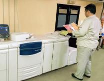 輪転印刷機の動画