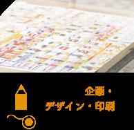 印刷物の企画・デザイン・印刷を一貫して頼みたい